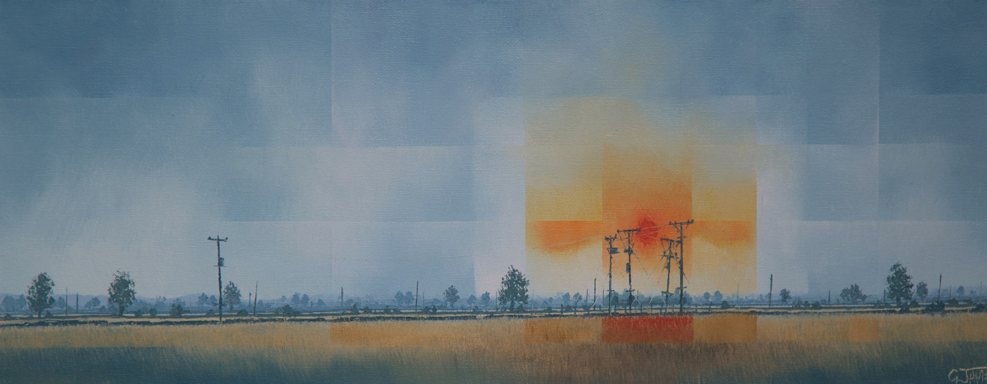Electric Sunset  £450.00  Hm