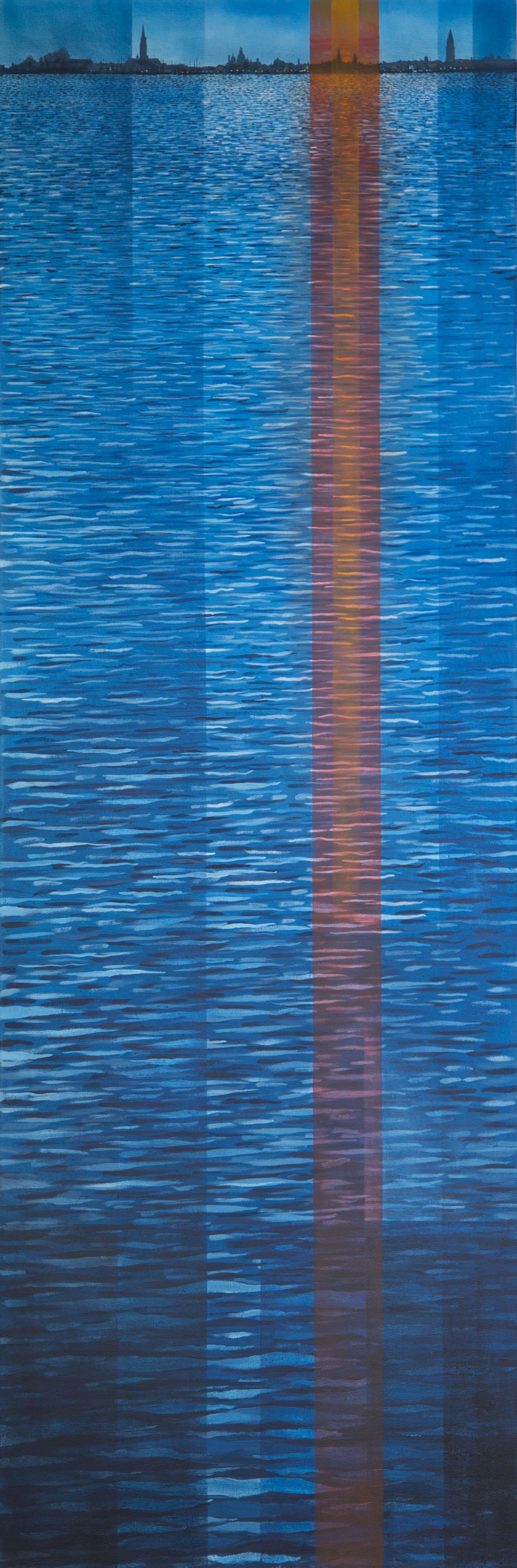 Lagoon Sunset  £3250.00  GLW