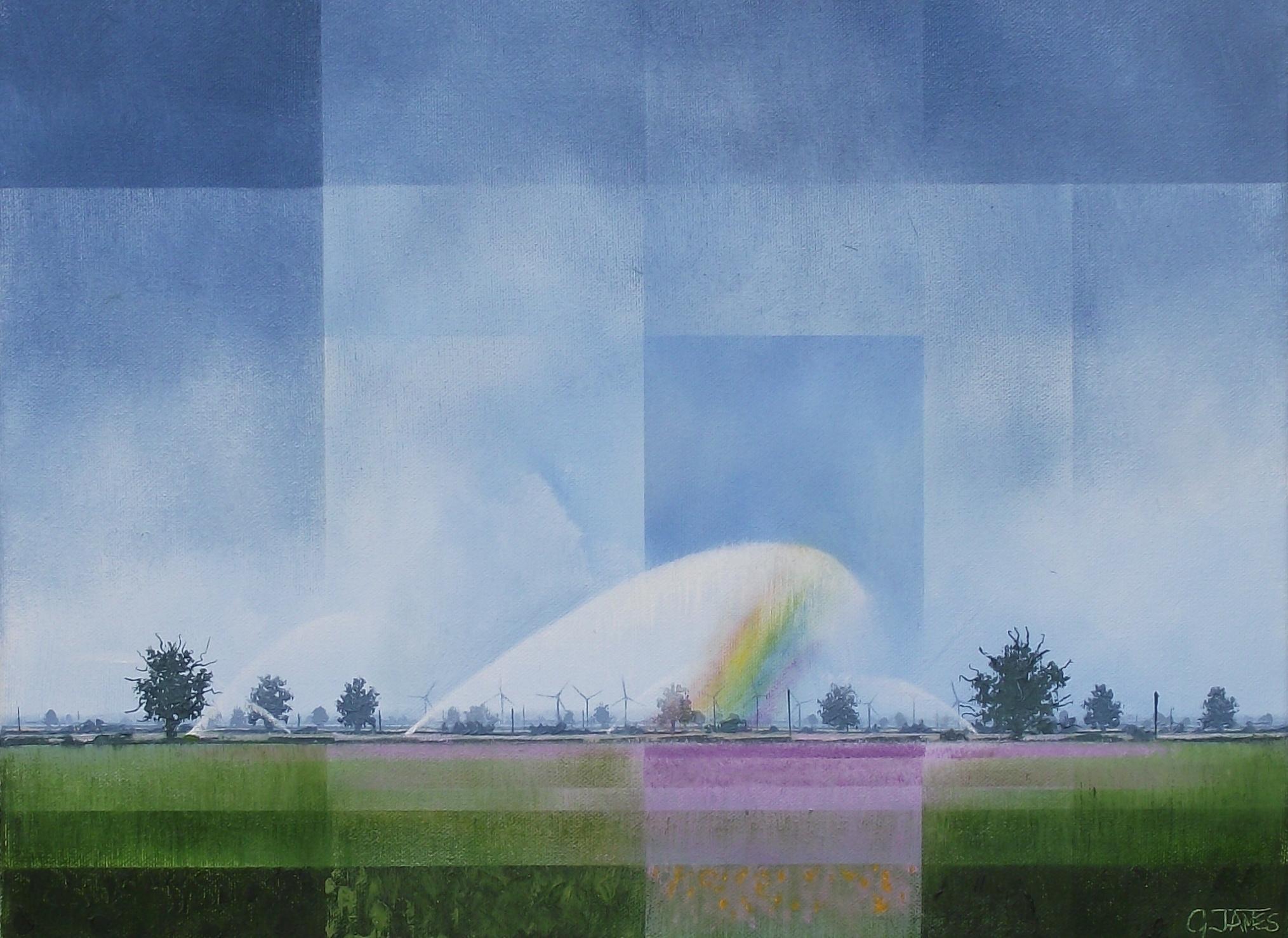 Making Rainbows  £425.00  GLW